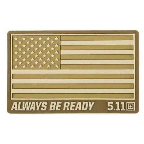 5.11 Tactical USA Flag Patch - Coyote