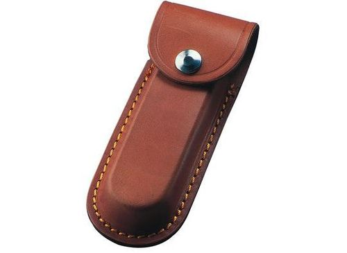 "Whitby 4.5"" Leather Knife Pouch - Brown - WP12"