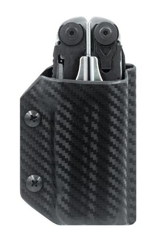 Clip & Carry Leatherman Surge Kydex Sheath - Carbon Fibre