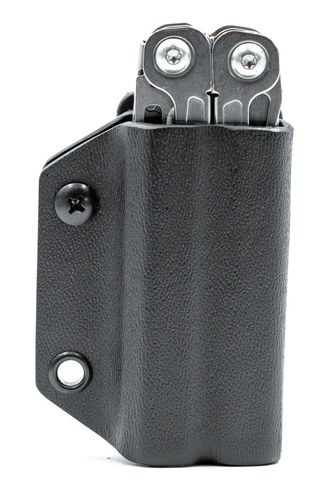 Clip & Carry Leatherman Wingman / Sidekick / Rebar Kydex Sheath - Black